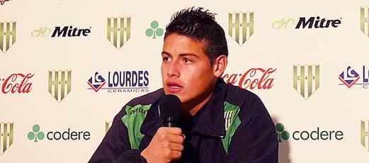 James Rodríguez campeón Banfield Torneo Apertura Argentino 2009