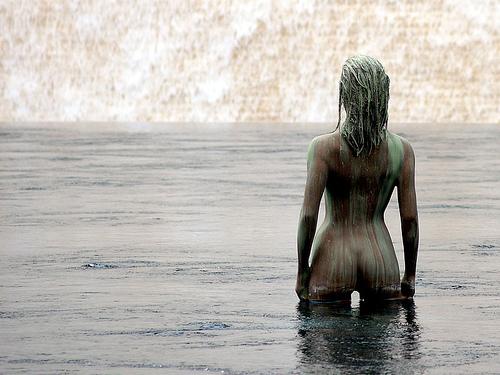 Woman in water, Flickr, Ton Haex