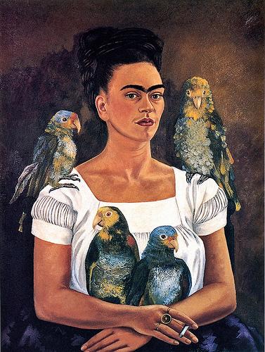Frida Kahlo, Flickr, libbyrosof.
