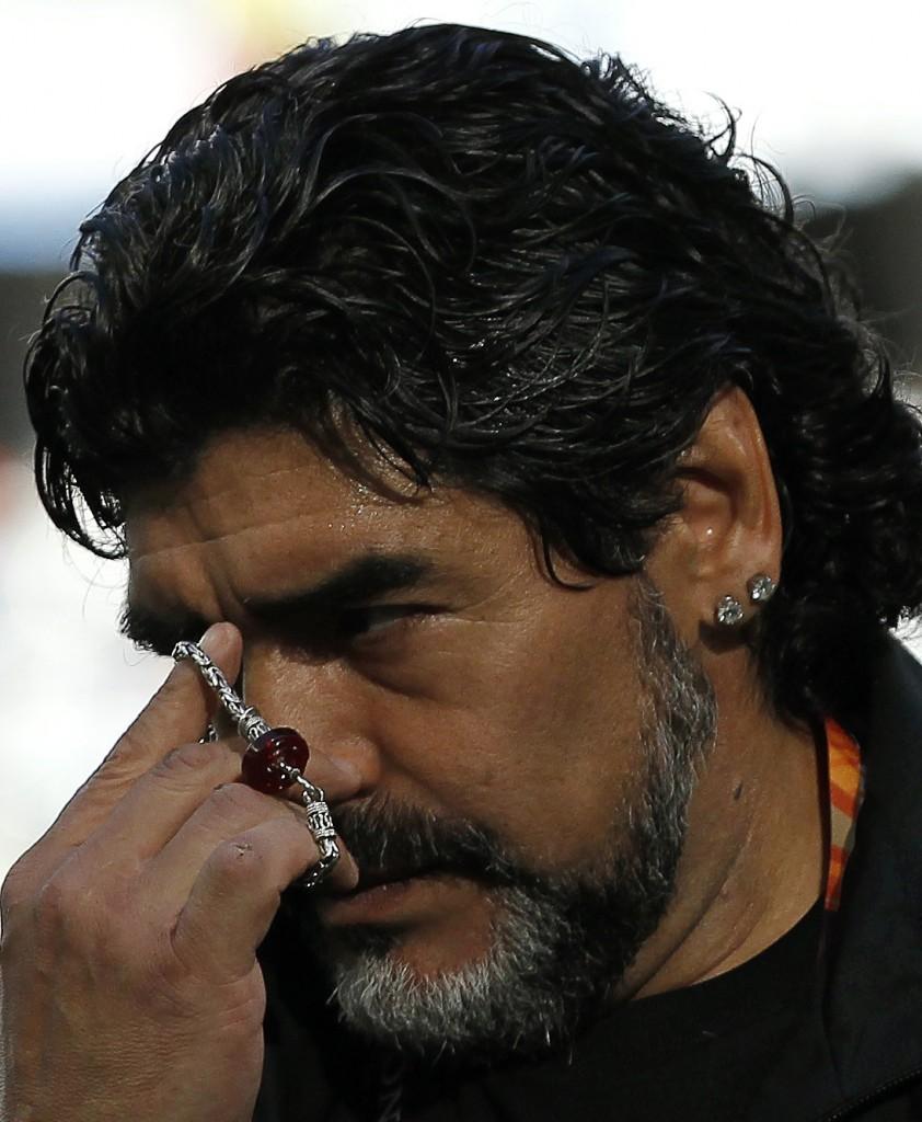 Diego Maradona, Reuters.