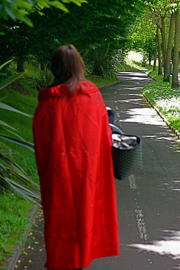 Caperucita roja, Flickr, egaroa
