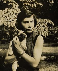 La joven Patricia Highsmith