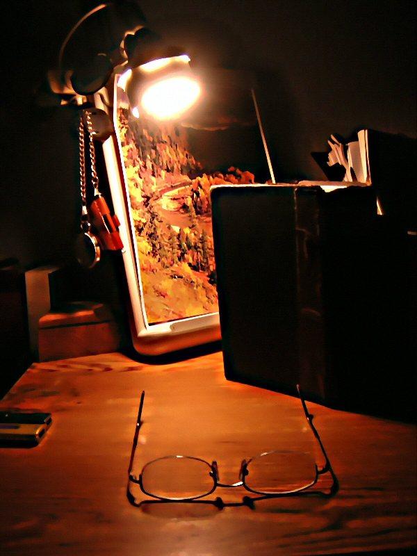 Writer desk, Flickr, runran