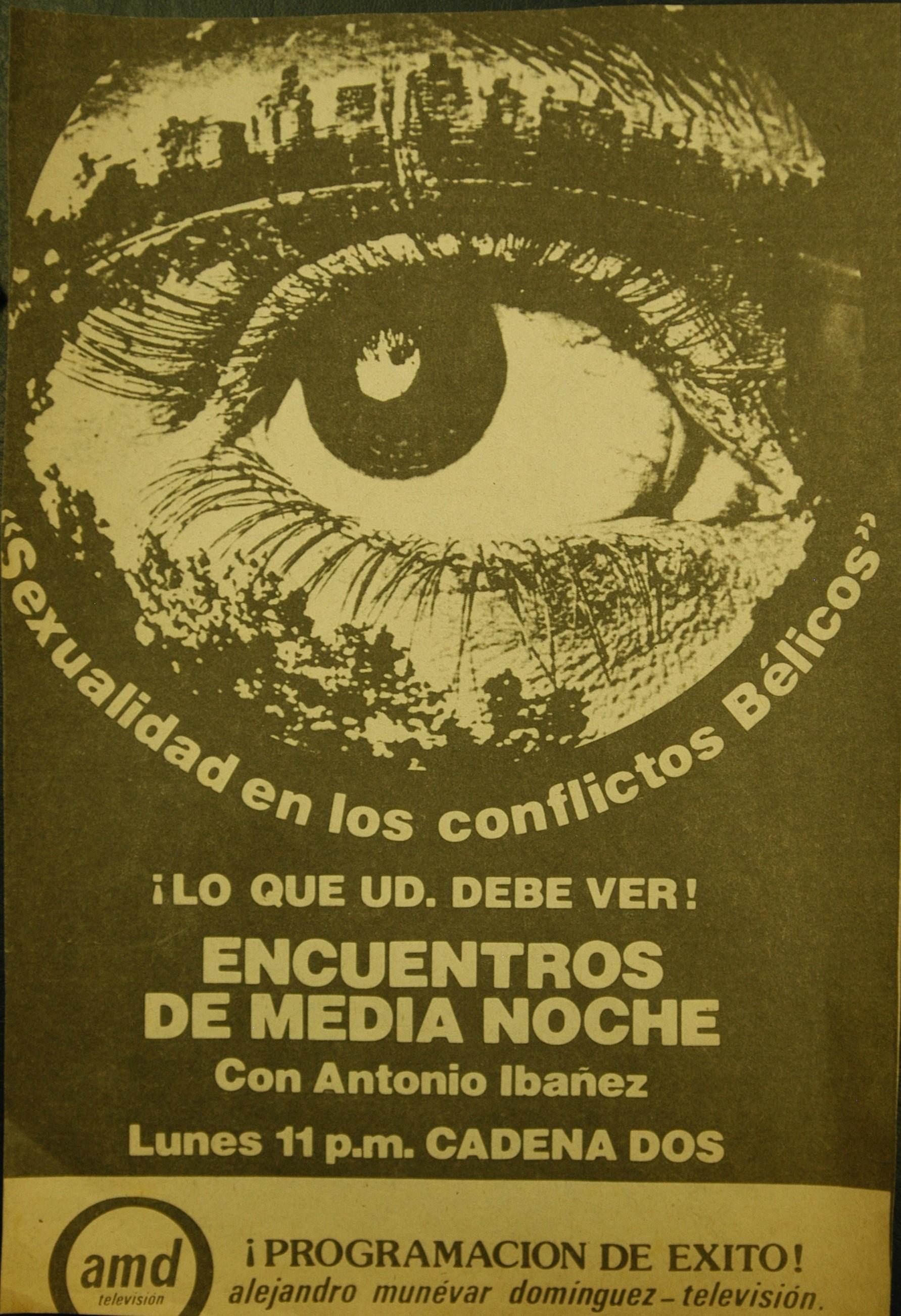 Afiche Antonio Ibáñez