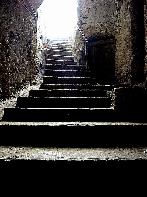 Stone stairs, Flickr, Martina Rathgens