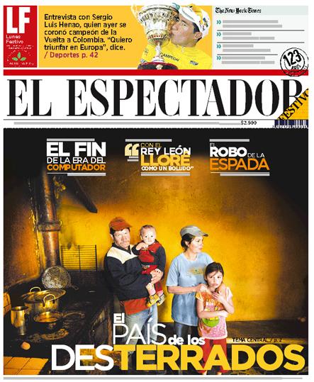 Edición de Lunes Festivo de El Espectador