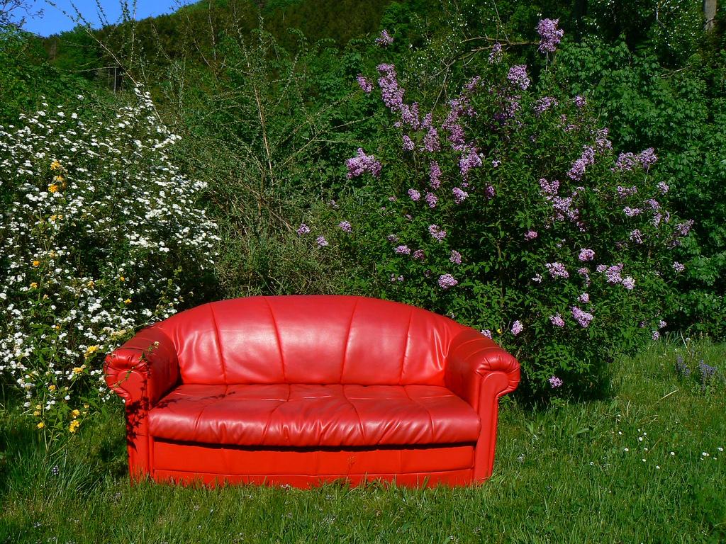 Das rote Sofa, Flickr, dierk schaefer