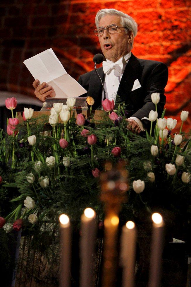 Mario Vargas Llosa. Foto: EFE