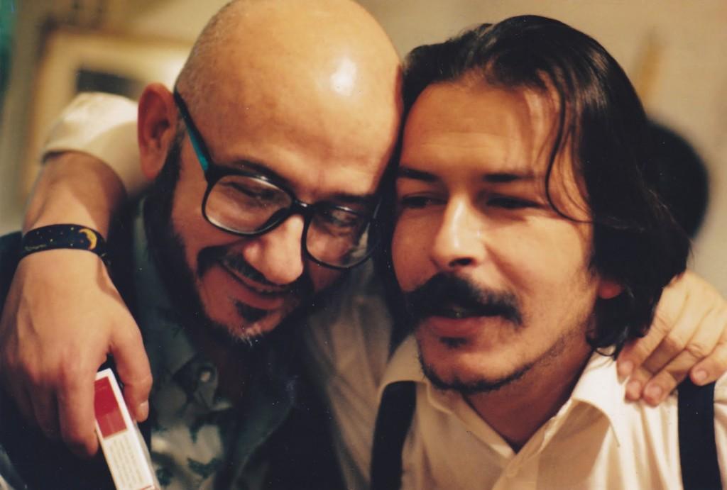 Gajaka (Gabriel Jaime Caro) y Ricardo León Peña Villa