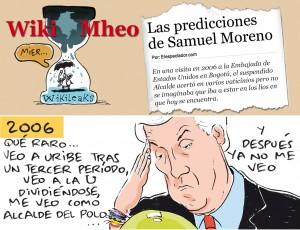 Lo que vio y no vio Moreno