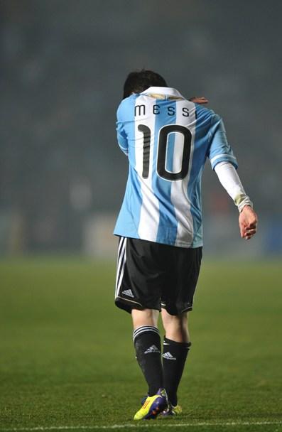 Messi. Foto: AFP