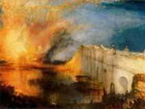 El incendio del Parlamento