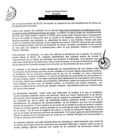 Peticion page 2