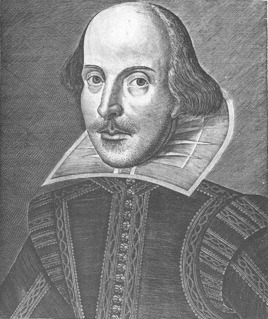 Shakespeare, según ilustración de la artista Erika Lloyd.