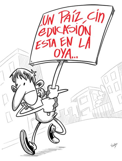 protesta.jpg   Blogs El Espectador