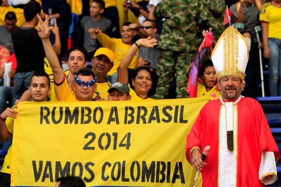 La esperanza es lo último que se pierde... allá vamos Brasil 2014.