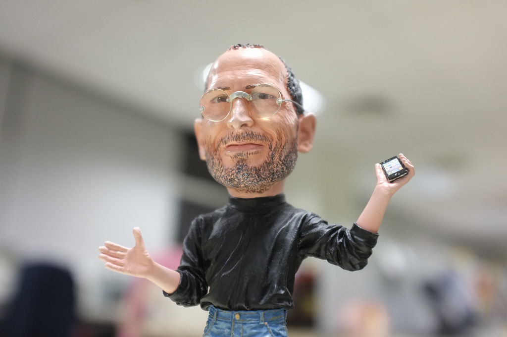 Steve Jobs Action Figure, Flickr, Sip Khoon Tan