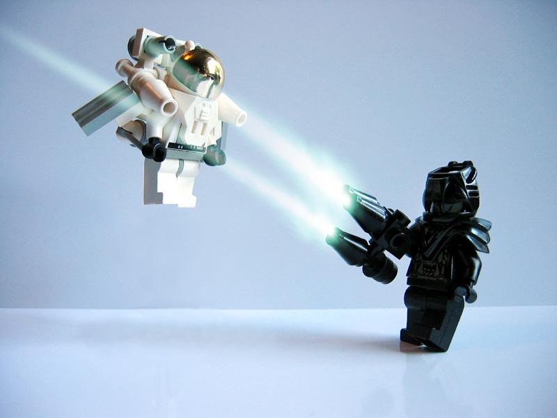 Good versus Evil, Flickr, Helico