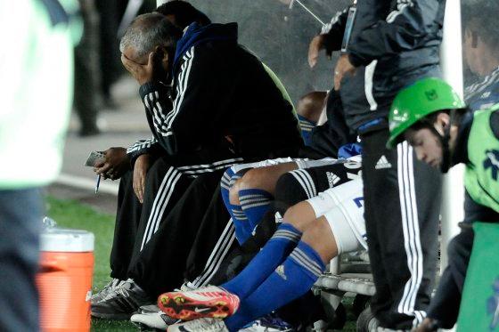 Richard Páez ya no sabe qué hacer con sus jugadores que no la meten / Foto Gabriel Aponte