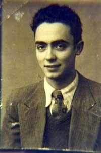 Foto del joven José Saramago