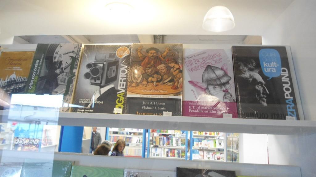 Libros Capitan Swing, en Filbo 2012