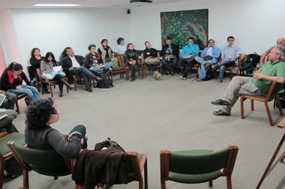 El grupo del taller de Produccion y Management
