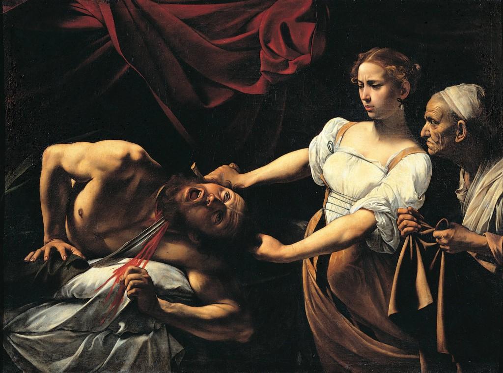 Judith y Holofernes, Caravaggio 1599