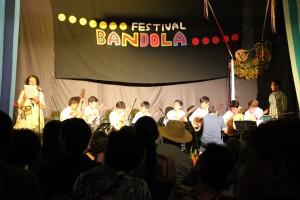 Bandolitis en la Casa de la Cultura de Sevilla.
