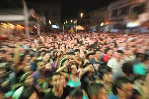 Público en el cierre del Festival Bandola.