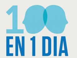 100 en 1 día