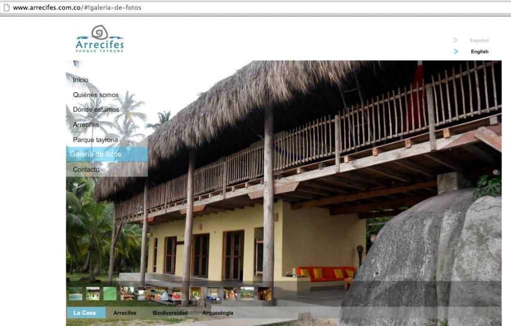 Hotel de Arrecifes S.A. en el Parque Natural Nacional Tayrona