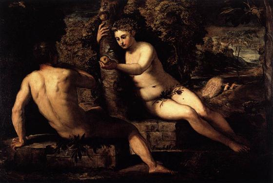 The-Temptation-of-Adam-tintoretto