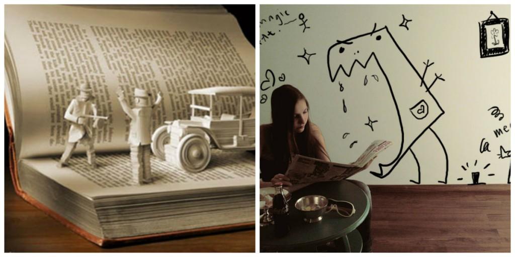 imagination collage