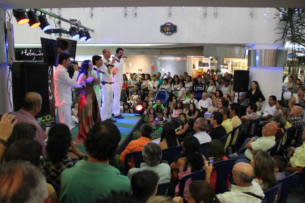 Presentación de Nvoz en Pereira
