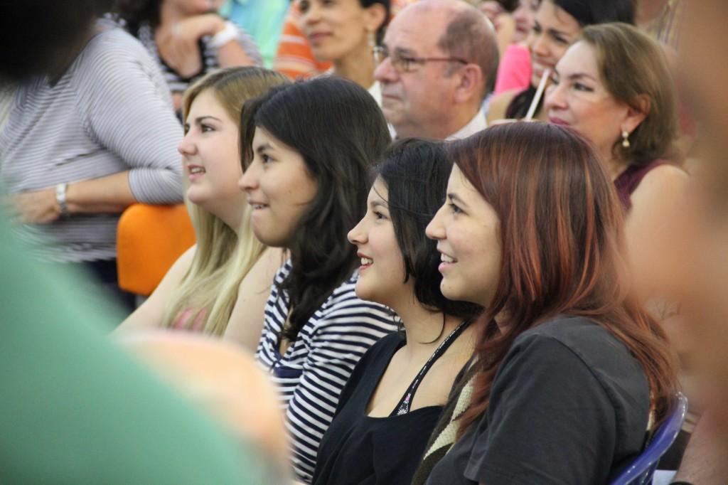 Público asistente a la jornada de cierre del Festival Sinfónico de Pereira