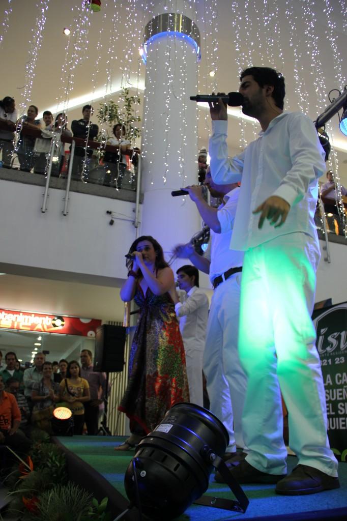 Nvoz en un centro comercial de Pereira