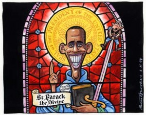 San Obama, el divino