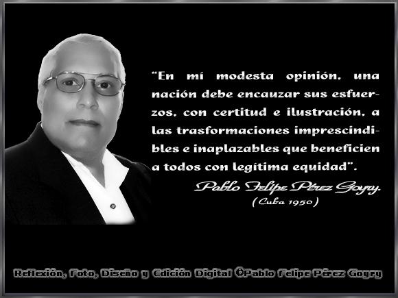 """Legítima equidad..."" - Por: Pablo Felipe Pérez Goyry"