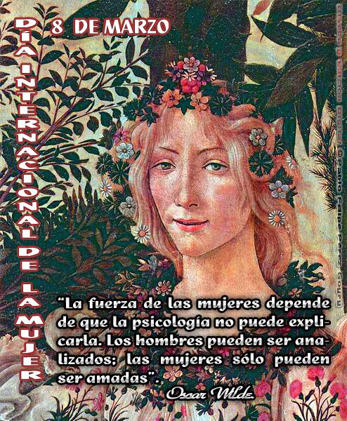 """""""8 de Marzo: DÍA INTERNACIONAL DE LA MUJER"""""""