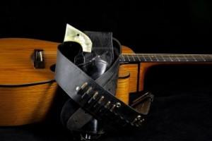 gitaar pistool