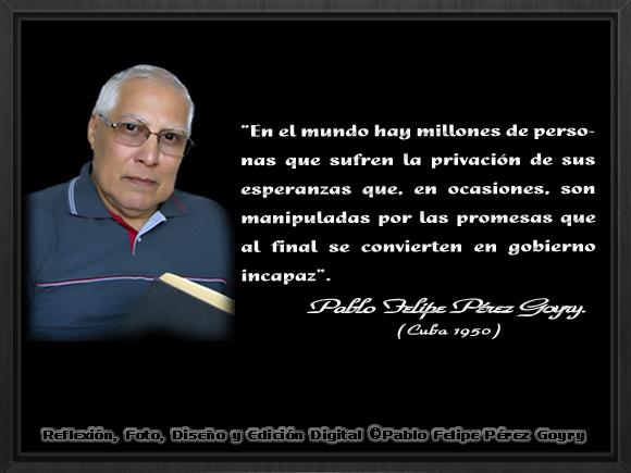 """""""Gobierno incapaz""""_©Pablo Felipe Pérez Goyry"""