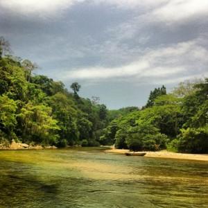 Río Palomino Guajira colombiana