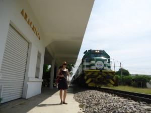 The Trainstation in Aracataca