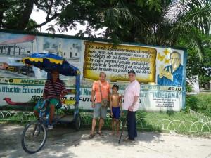 The entree of Aracataca