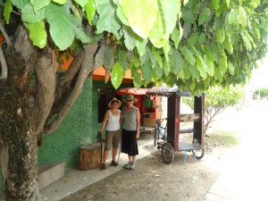 Where is the shade? It's a ciclotaxi! in Aracataca, hostel The Gypsy Residence