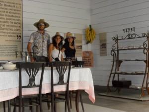 in Aracataca's Gabriel Garcia Marquez birthhouse