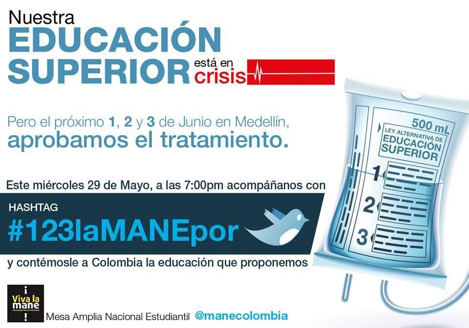 VII plenario de la MANEMedellín 1,2 y 3 de Junio 2013