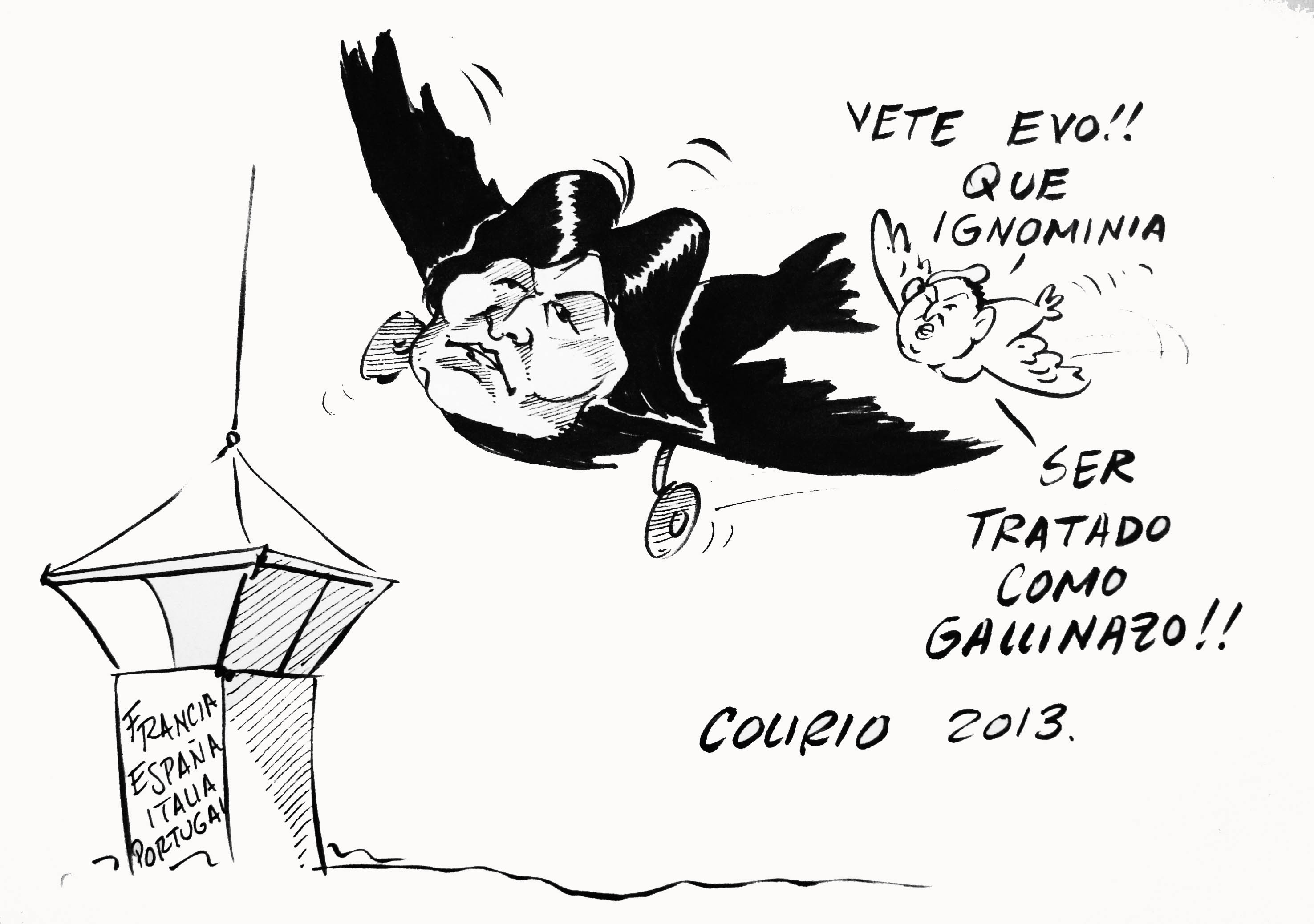 caricatura sabado 6 de julio de 2013