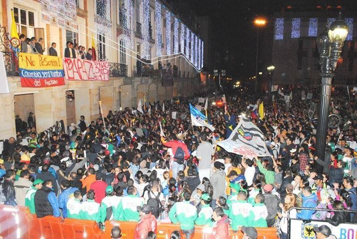 Plaza de Bolívar- 10 de diciembre-2013