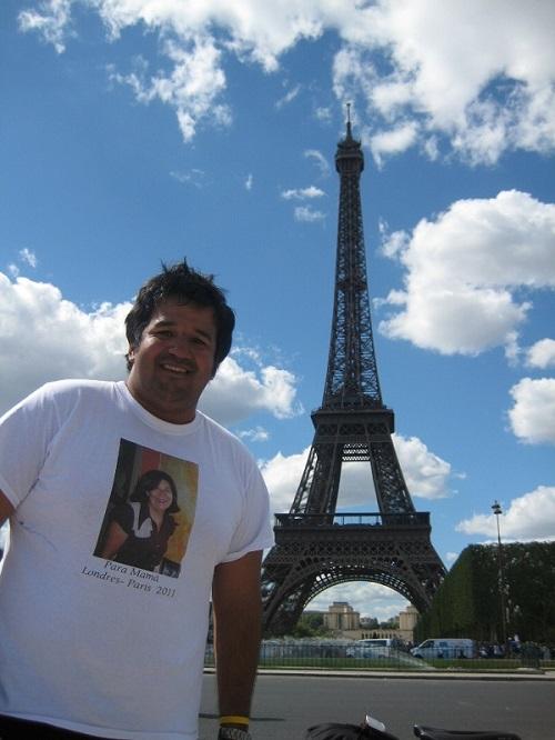 Toda la información sobre la iniciativa de Andrés Jiménez se encuentra en www.andresridestoparis.co.uk